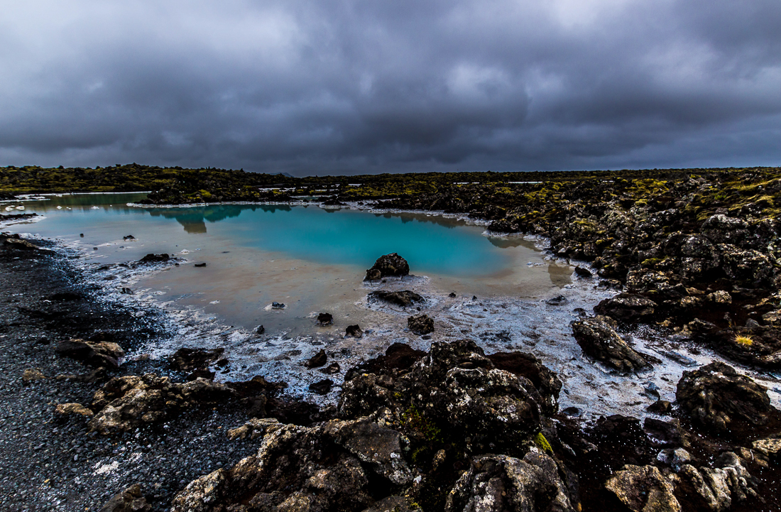 Blue Lagoon, station thermale située dans le sud-ouest de l'Islande.