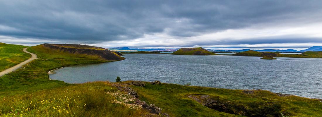 Skútustaðir-cratères-islande