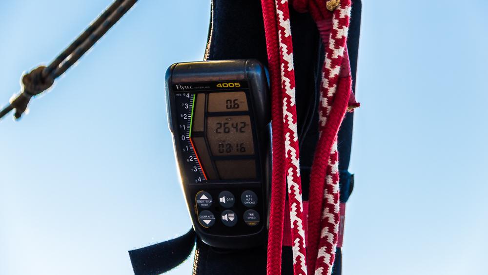 Altimètre montgolfière