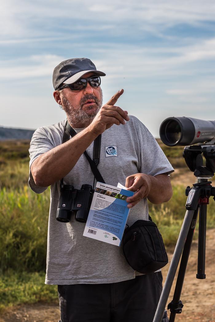 Balade ornithologique avec l'association Aude Nature