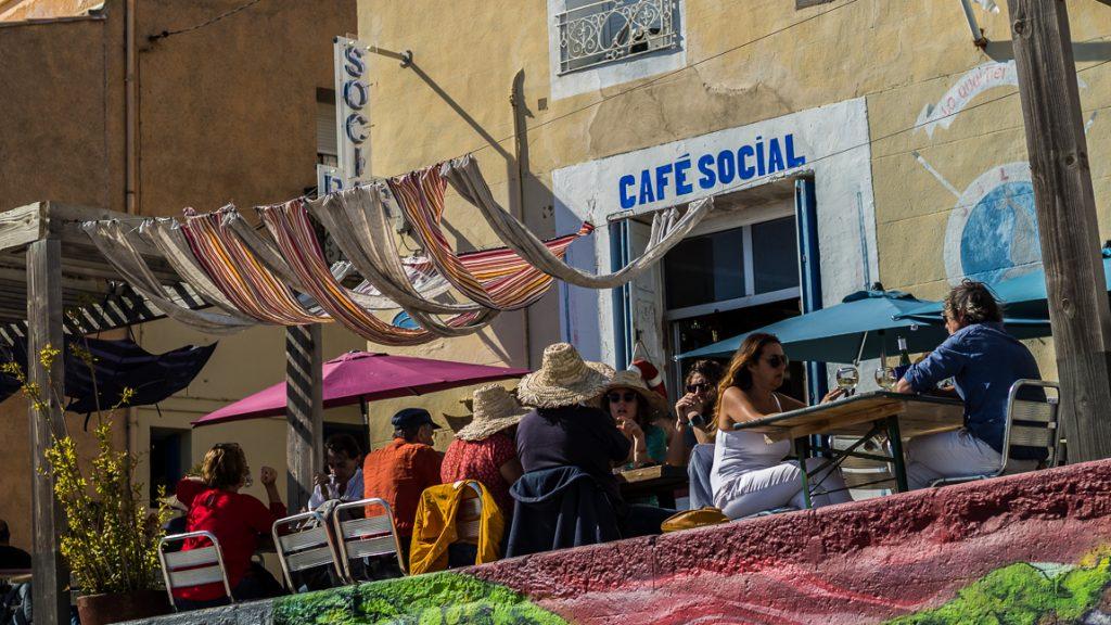 Café social, un lieu atypique à Sète
