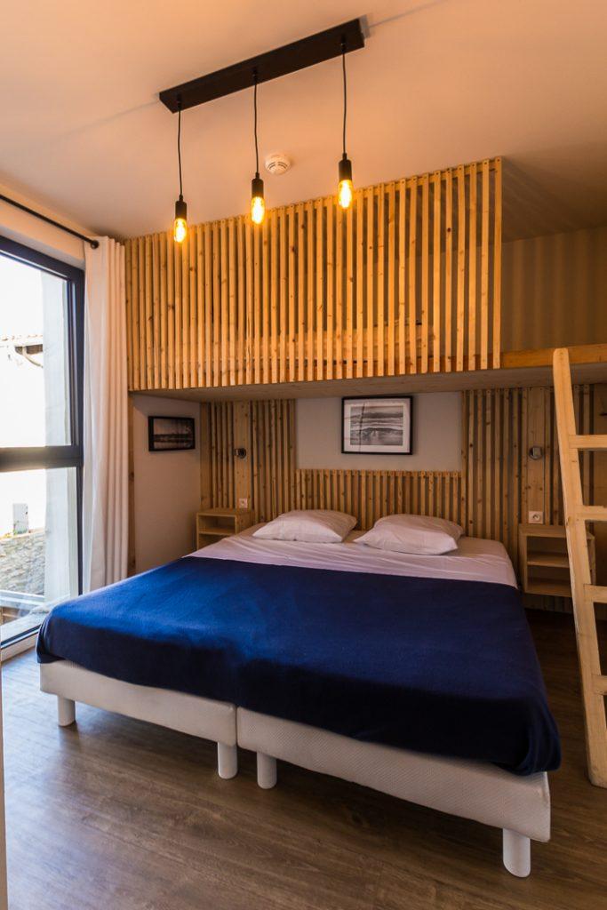 Chambre double du Georges Hostel à Sète