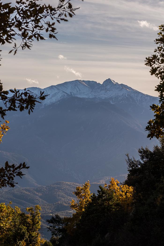 Panorama sur le Canigou