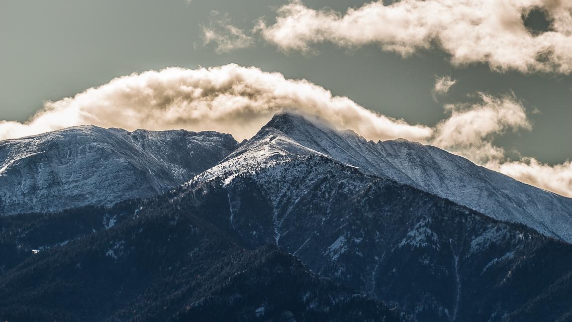 Panorama sur le Massif du Canigou
