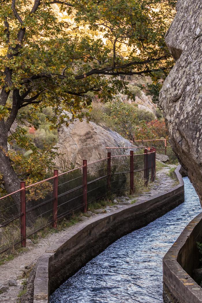 Canal de Rodès dans les Pyrénées Orientales