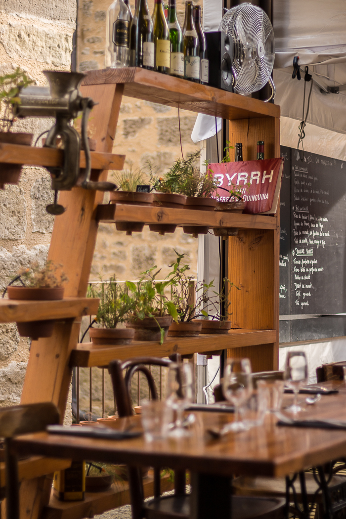 Le petit marché restaurant en Lozère