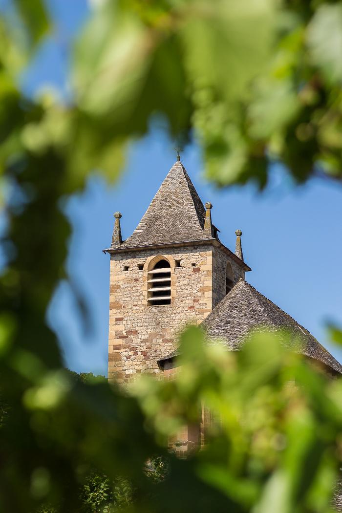 Église à La Canourgue en Lozère