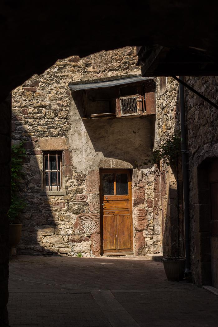 Ruelle à La Canourgue en Lozère