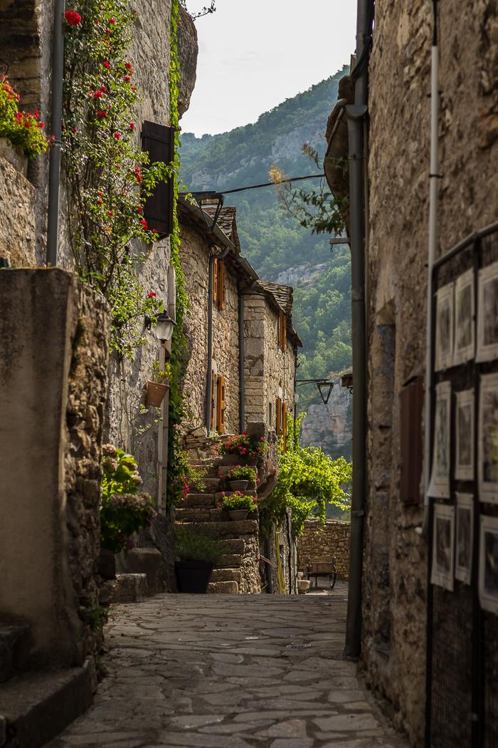 La Malène village des Gorges du Tarn