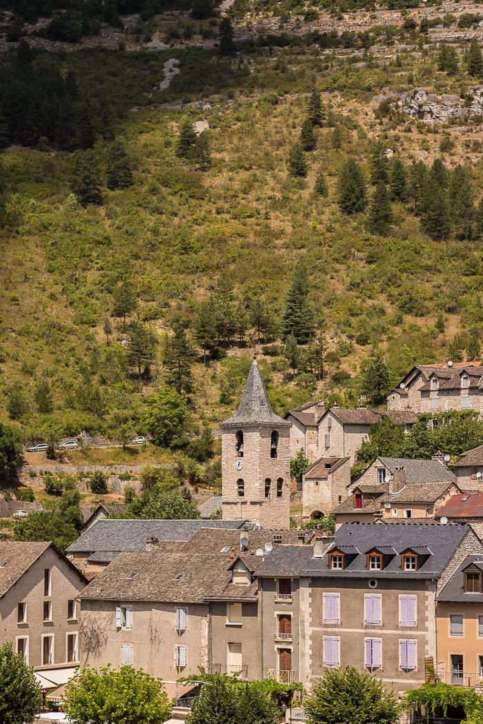 Sainte Énimie village des Gorges du Tarn