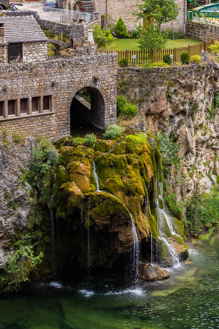 La Cascade de Saint Chély du Tarn