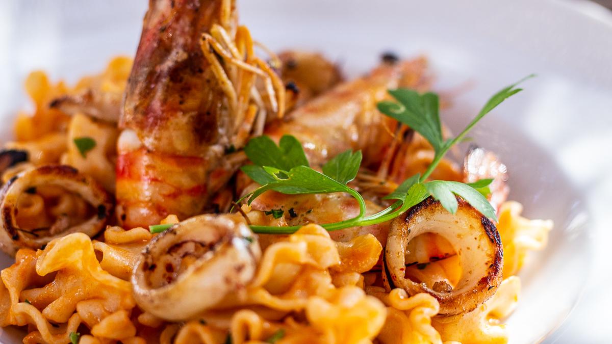 succulent plat du Restaurant El Silex Tautavel