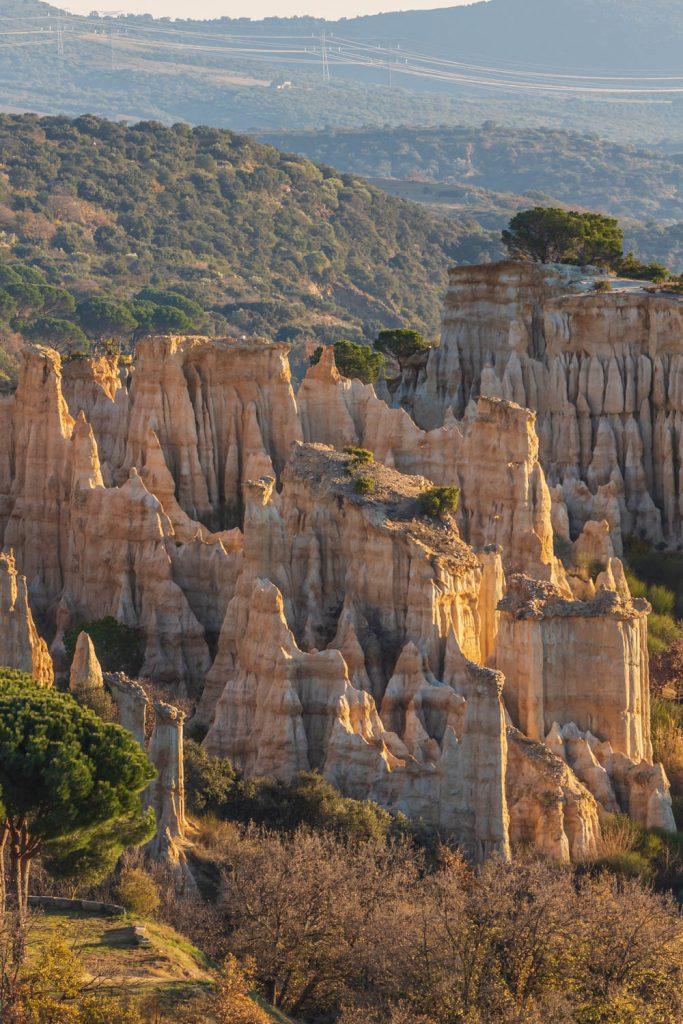 Panorama sur les Orgues d'Ille sur Têt