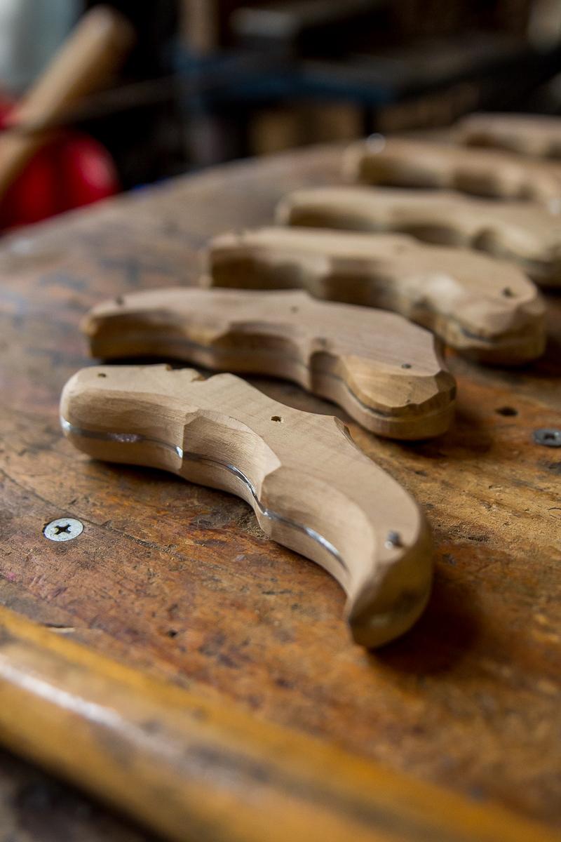 manches de couteau le Tautavellois