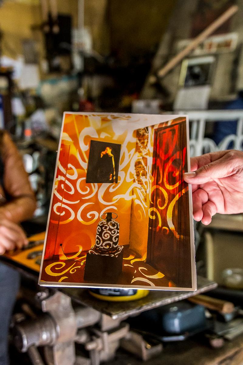 Création d'Alis Francis le ferronier d'art