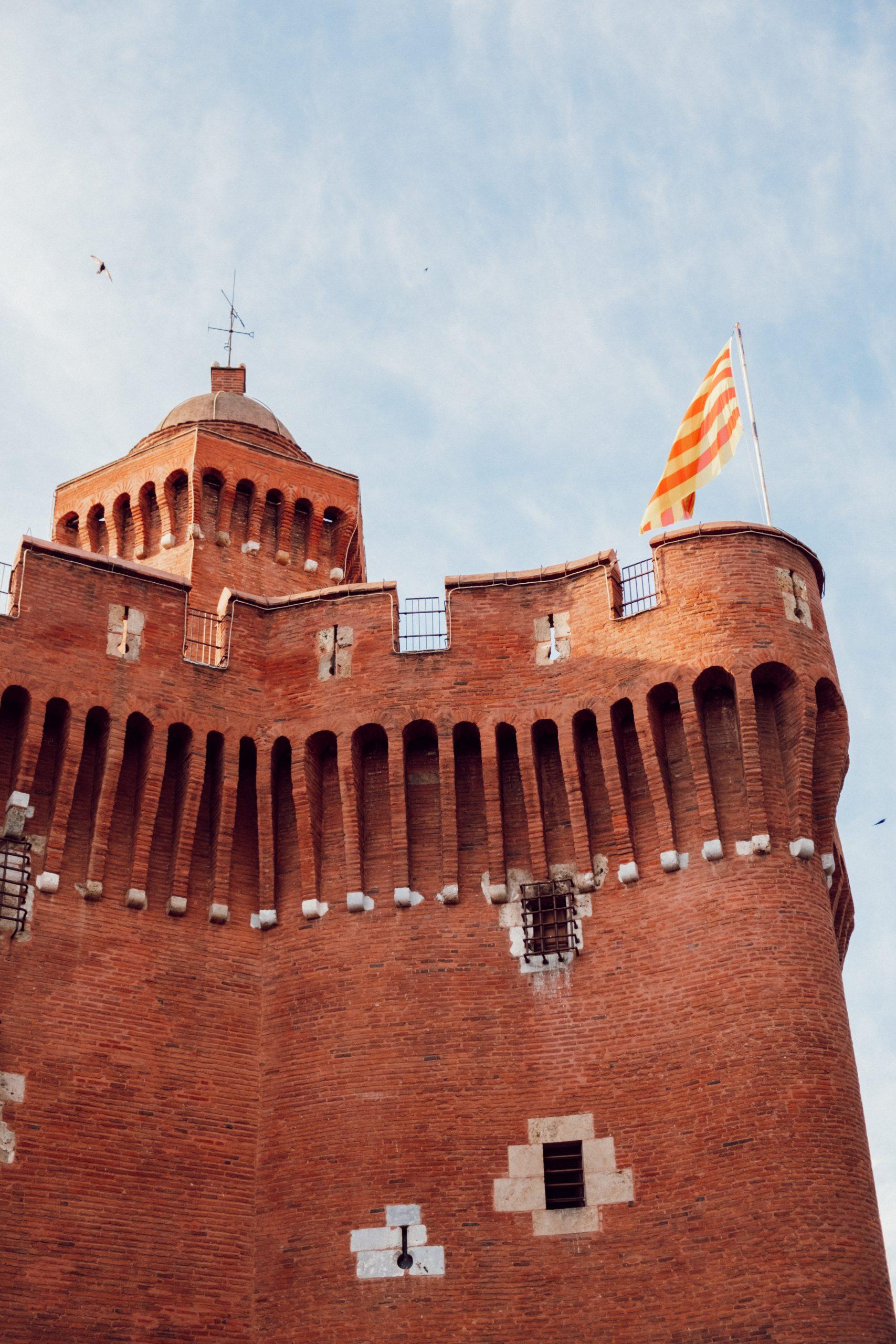 Le Castillet monument emblématique de Perpignan