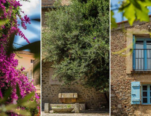 Les jolies rues d'Ille sur Têt dans les Pyrénées Orientales