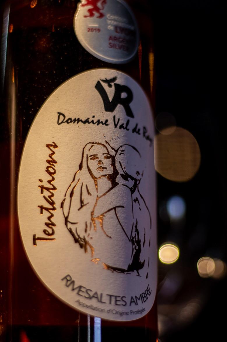 Bouteille de vin doux du domaine Val de Ray à Tautavel