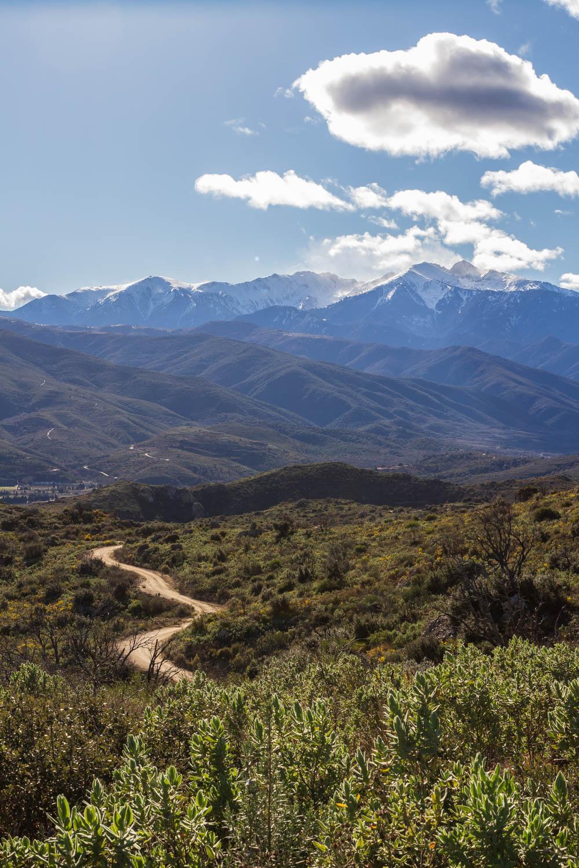 sentier vers le Puig Pedrous
