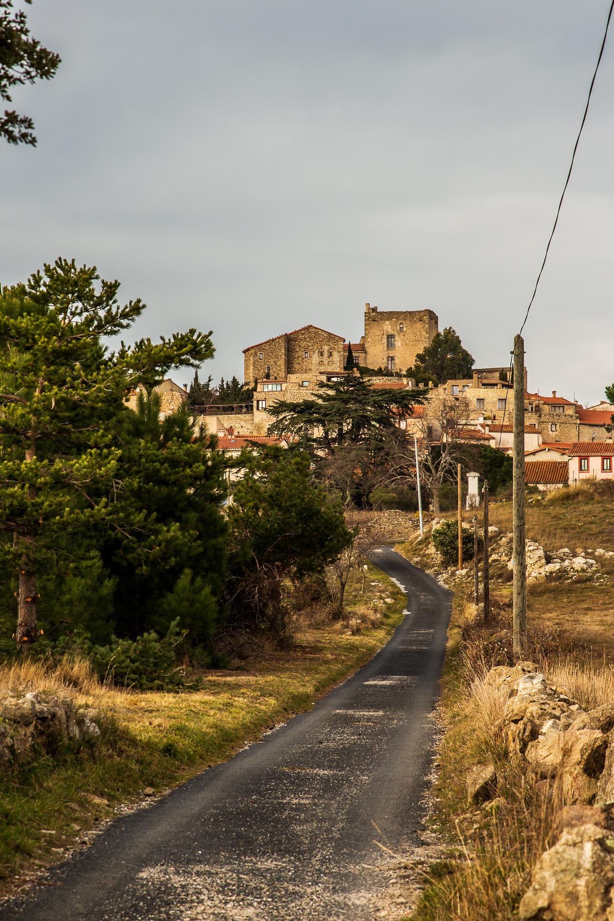 Vue sur Montalba le Château