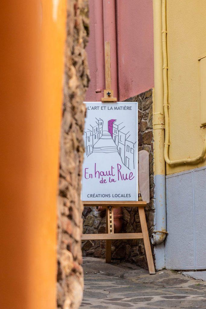 Joli détails dans les rues de Collioure