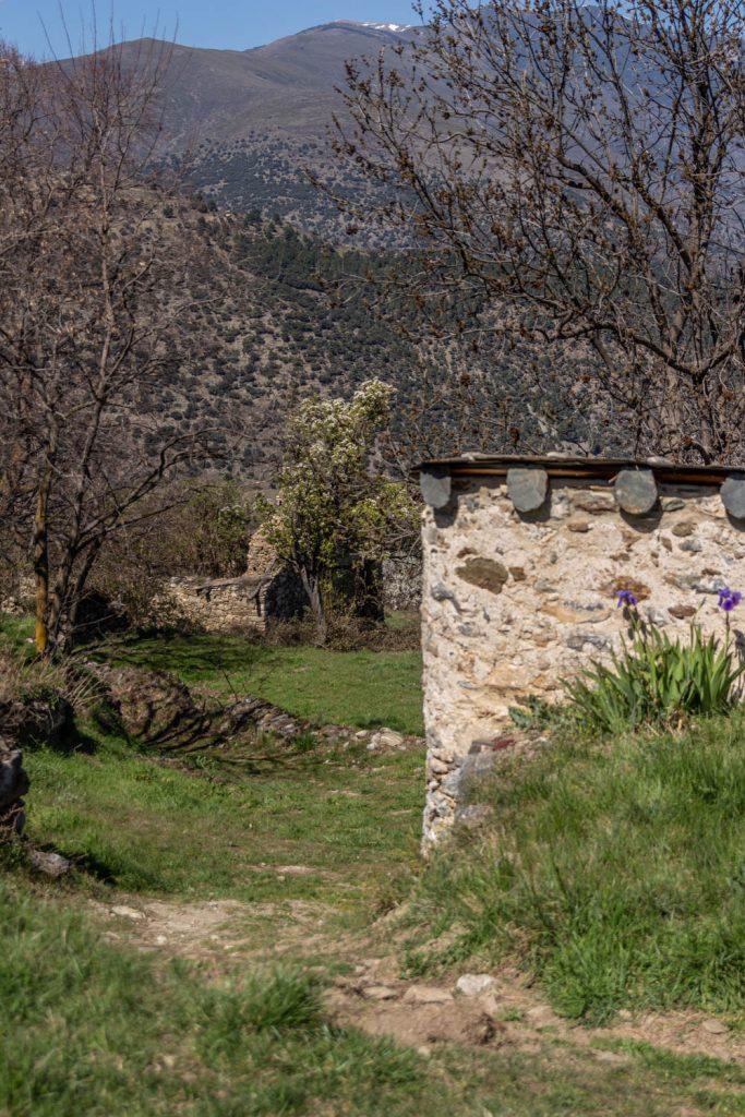 Village abandonné dans les Pyrénées Orientales