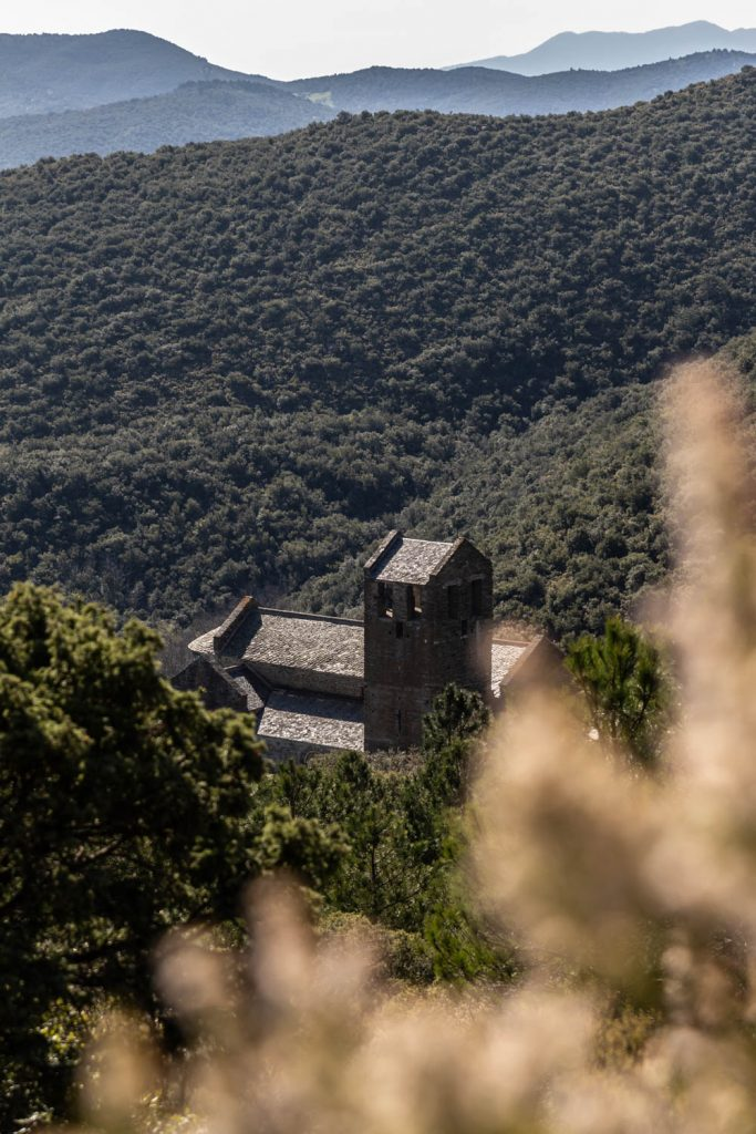 Prieuré de Serrabone, haut lieu de l'Art roman en Pays catalan
