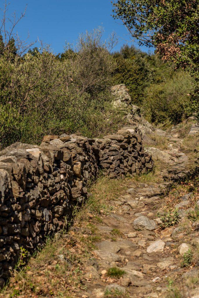 Vestiges de Ropidera à Rodès